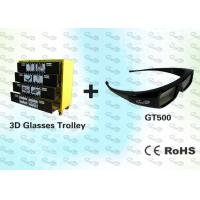Quality OEM 3D Package Black Stereo 3D Glasses with Trolley for sale