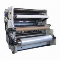 Quality Wide Web Soft Embossing Machine, Can Emboss PET, BOPP, PVC and More for sale