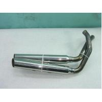 China Precision SS201 / SS202 / SS303 Custom Exhaust Pipes For Motorcycles With Chrome Plated on sale