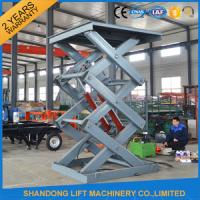 Quality 2 Ton 3m Hydraulic Elevator Lift , Warehouse Lift Platform For Cargo Lifting for sale