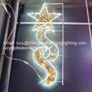 Quality Christmas Pole Mounted Light, Led Street Motif Light for sale