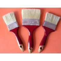 Quality White Bristles paint brushes with wood handel for sale