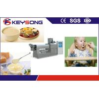 China Stainless Steel Nutritional Baby Food Making Machine High Output 200 - 260 Kg / H on sale