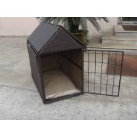 Quality Aluminum Frame KD Wicker Pet Bed , Outdoor Waterproof Dog House for sale