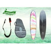 China custom adult Epoxy Resin Long Surfboards surfing in sea / wave lake on sale