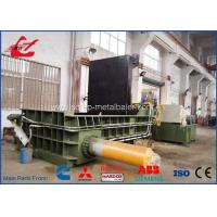 Quality Popular Stainless Steel Scrap Metal Baler , Turn - Out Stype Baling Press Machine 250 Ton for sale