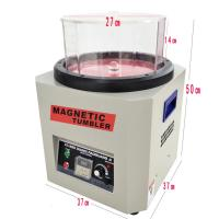 KT-360 1300g Variable Speed Large Magnetic Tumbler Jewelry Polishing / deburr