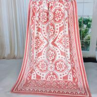 Quality Custom Brand Best&Less Canada Woven Jacquard Beach Towels for Promotion Shop for sale