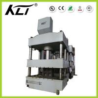Quality Y32 1250tons ISO Hydraulic Four-Column Hydraulic Press Stainless Steel Sink Production Line for sale