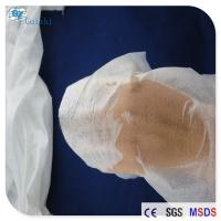 Buy Imitation Silk Spunlace Nonwoven Fabric Transparent Mask Raw Material OEM at wholesale prices