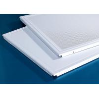 Buy cheap 600x600MM Acoustic Clip In Metal Aluminum Ceiling from wholesalers