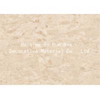 Quality Marble Design Interior Pvc Sheet Film , Wall Panel Hot Foil Rolls Fire Proof for sale
