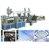 Quality Agricultural Plastic Sheet Extrusion Line Greenhouse Hollow Polycarbonate Roof Panels for sale