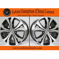 Buy cheap Tiguan Replica 19 Inch Black Aluminum Wheels Rims / Replica Wheels For Volkswagen from Wholesalers