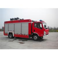 China 139kw 4x2 Drive ISUZU Chassis Light Fire Truck With LED Light Source on sale