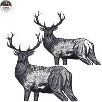 Quality Unique Custom Made Embroidered Patches For Jeans , Jackets , Clothes for sale