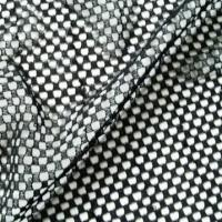 Quality 100% Polyester Printed Flocked Fabric for sale
