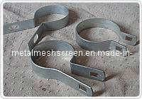 Quality Brace Band With Bolts and Nuts,Chain Link Brace Bands are used to attach all fence horizontal rails, bottom tension wire for sale
