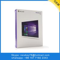 Quality Windows 10 Professional Retail Box Russian / Korean Language Full Version With DVD / USB for sale