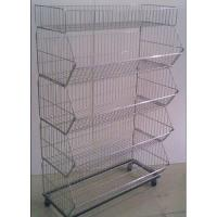 Quality Removable Iron Assembled Storage Wire Basket For Supermarket And Store for sale