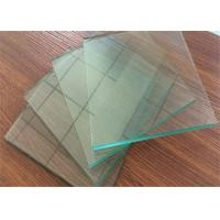 Quality Professional Clear Sheet Glass 1 mm ~ 2.7mm Thickness For Picture Frame for sale