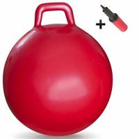 Quality Anti Slip Kids Jumping Ball Toy Bouncing Ball With Handle Light Weight 50cm for sale