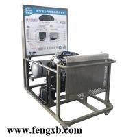 Electronically-controlled double-fuel engine of teaching aid equipment