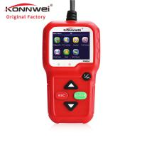 China KW680 Konnwei Scan Tool Automotive Error Code Reader Support Data Printing on sale