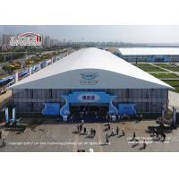 Quality 40x70m Large Size Span Outdoor PVC Exhibition Hall Tent for Sale Asia Manufacture for sale