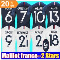 d801b8092be Thaialnd GRIZEMANN POGBA 2018 2019 World Cup jersey Mbappe DEMBELE Maillot  de Images