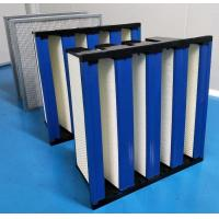 Quality ABS Plastic Frame High Capacity HEPA Air Filter 99.99 Efficiency for sale