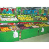 Quality 1330*780*2200mm Metal Customized Safe Space Saving Wall Display Fruit And Vegetable Rack for sale