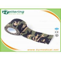 Quality Military Tactical Flexible Cohesive Elastic Bandage Adhesive Tape Stretchable for sale