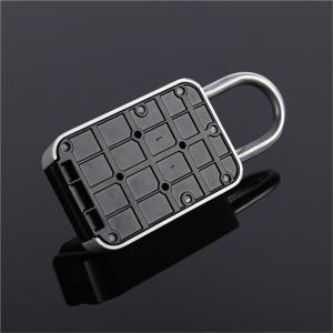 Auto Key Safe Car Lock Box For Keys 4 Digit Combination Aluminum