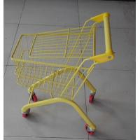 Buy Colorful European Child Size Metal Shopping Cart Wire Basket Trolley 460×330×630 at wholesale prices