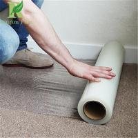 Quality 0.055-0.2mm Clear Transparent Self Adhesive Carpet Protection Film for sale