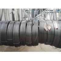 China Low Carbon Single Wall Steel Tube Round Coil For Refrigerator Condenser Coiled on sale