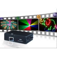 Quality 600mW RGB color LED stage light moving heads beam laser show projector with Sound for sale