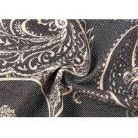 Quality Twill 100% Cotton Print Stretch Denim Fabric Printed Fabric With SGS Certified for sale