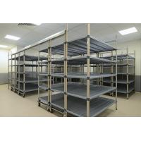 Quality Chrome - Plated High Density Storage System  , Top Track  Mobile Wire Shelving For Health Care for sale