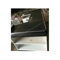 Buy Elegant Custom White Checkout Counter / Anti - Corrision Grocery Store Register at wholesale prices