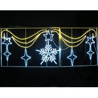 Quality Holiday Decoration Outdoor LED Motif Light Across Street Light for sale