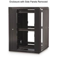 Buy Swing Out Outdoor Data Cabinet , Side Panels In Wall Network Cabinet For at wholesale prices