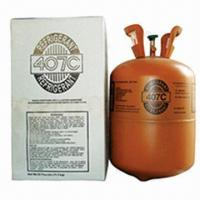 Quality R407C Refrigerant Gas, Mixed Fluorine Refrigerant, R22 Replacement, Purity 99.9%, OEM Accepted for sale