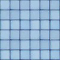 "China Durable Ceramic Mosaic Tile / Blue Mosaic Bathroom Tiles 48""X 48"" Mm Chip Size on sale"