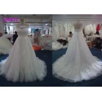Quality A Line French Sweetheart Princess Bride Wedding Dress With Lace Beaded Decoration for sale