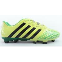 China Children Yellow Big Indoor Outdoor Soccer Shoes For Size 10 on sale