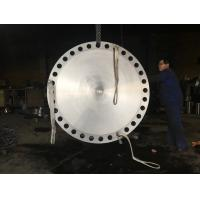 Quality forged flange , carbon steel pipe flange , blind flange , 72inch flange for sale