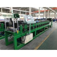 Quality 0.3 - 0.8mm Corrugated Fine Roofing Sheet Roll Forming Machine AC 7.5KW Motor for sale