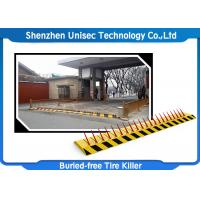 Electronic Hydraulic Road Barrier , One Way Spike Barrier